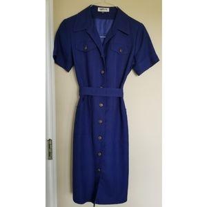 Blue Kasper dress
